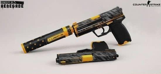 Модель пистолета USP   Orion  для CS:GO