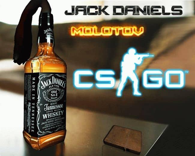 Модель Молотова Jack Molotov для CS:GO