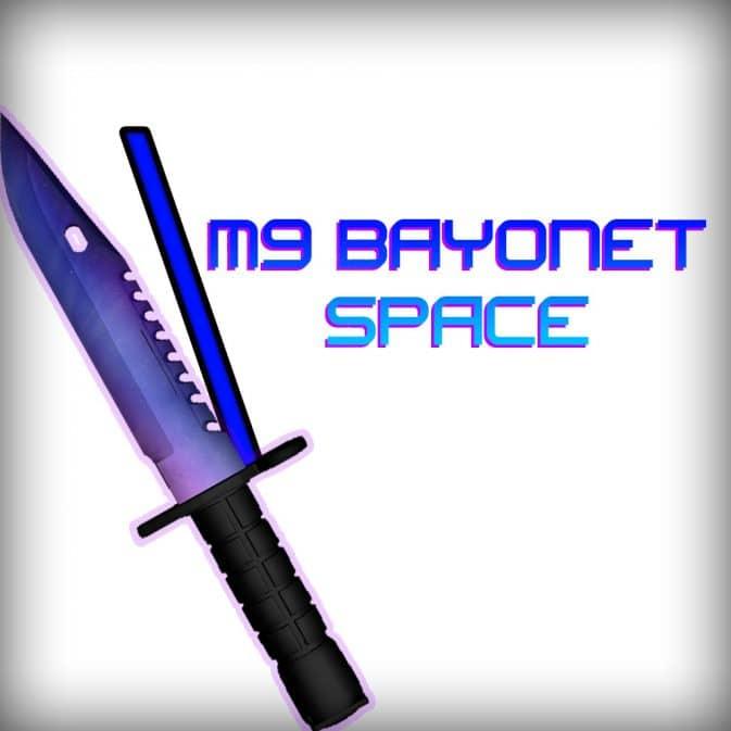 M9 Bayonet - Space модель ножа кс го
