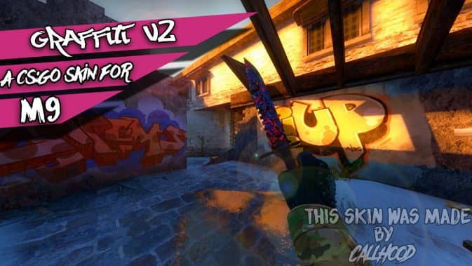M9 Bayonet - Graffiti v2 для кс го