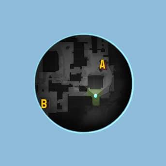 Скришот упрощенного радара в кс го