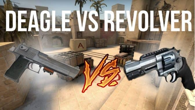 desert eagle vs r8