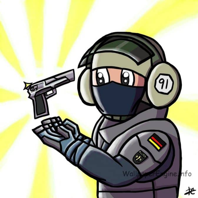 Рисунок спецназа №2