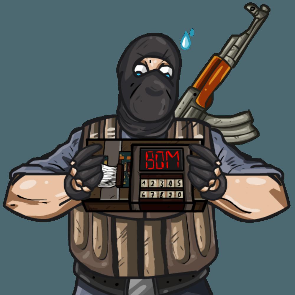 рисунок террориста #1