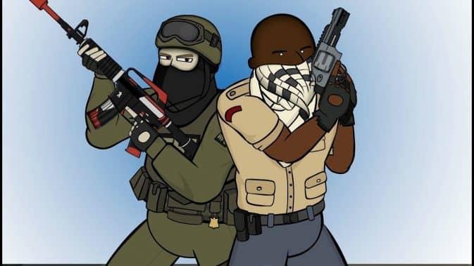 рисунок террориста #3