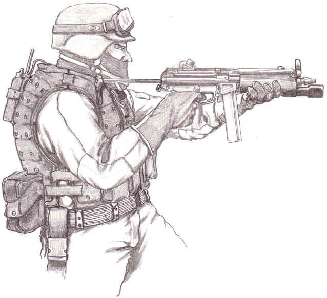 рисунок террориста #4