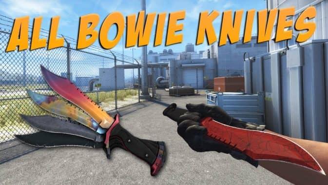 Нож Боуи кс го