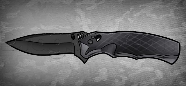 Складной нож кс го