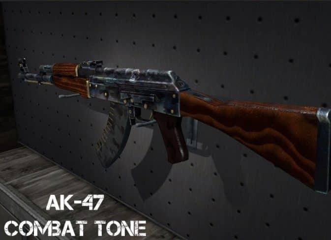 Модель AK 47 - Combat Tone для CS:GO
