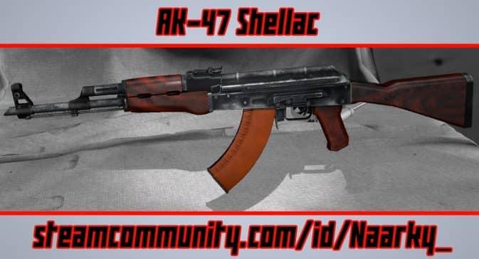 Модель AK-47 Shellac для CS:GO