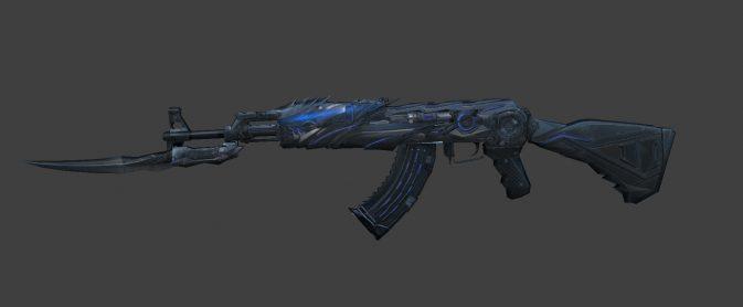 Модель AK-47 Transformers (CF) для CS:GO