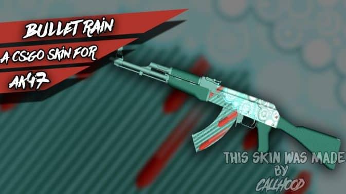Модель AK47 - Bullet Rain для CS:GO