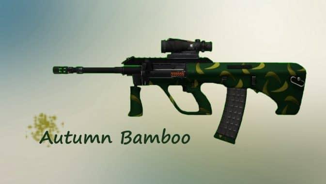 Модель AUG | Autumn Bamboo для CS:GO