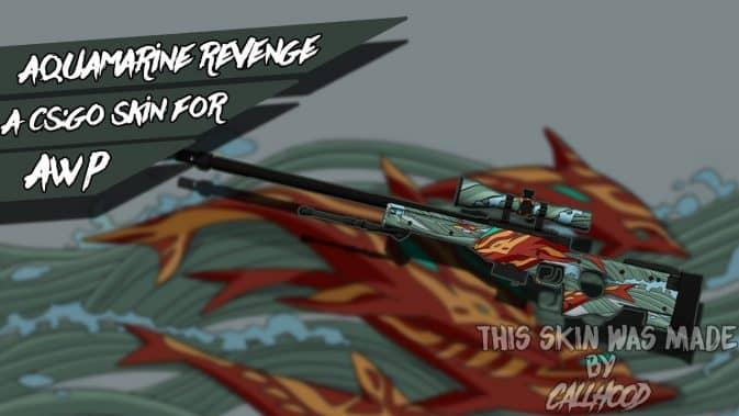 Модель AWP-Aquamarine Revenge для CS:GO