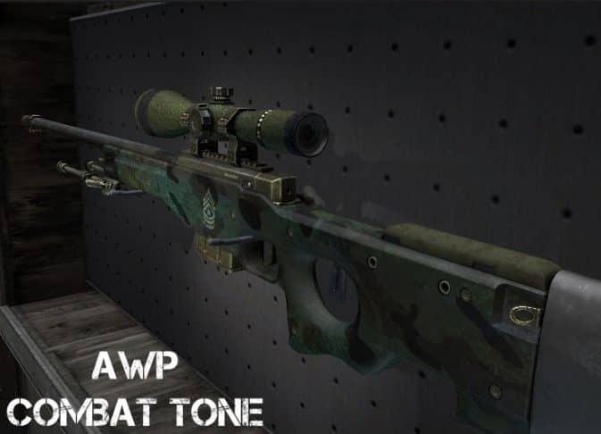 Модель AWP - Combat Tone для CS:GO