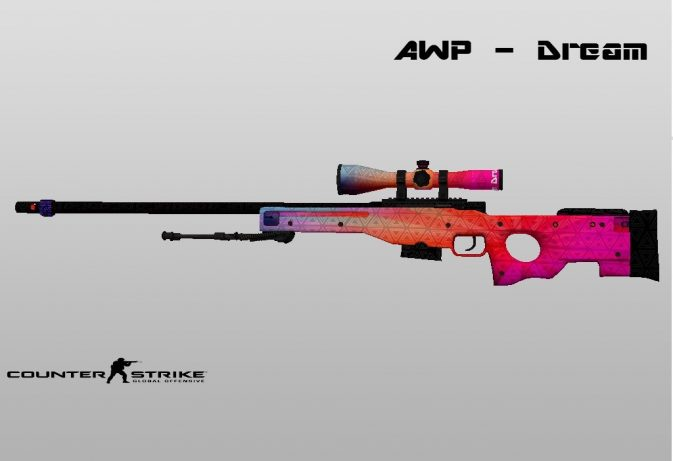 Модель AWP - Dream для CS:GO