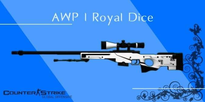 Модель AWP - Royal Dice для CS:GO