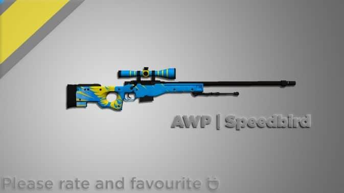 Модель AWP - Speedbird для CS:GO