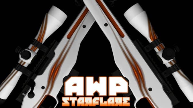 Модель AWP - Starflare для CS:GO