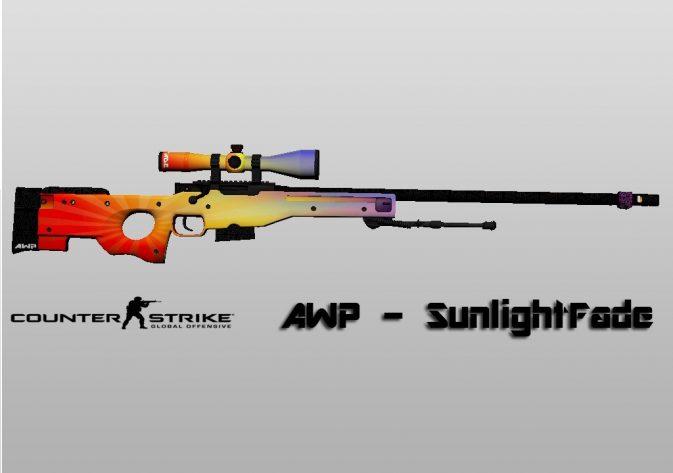 Модель AWP - SunlightFade для CS:GO