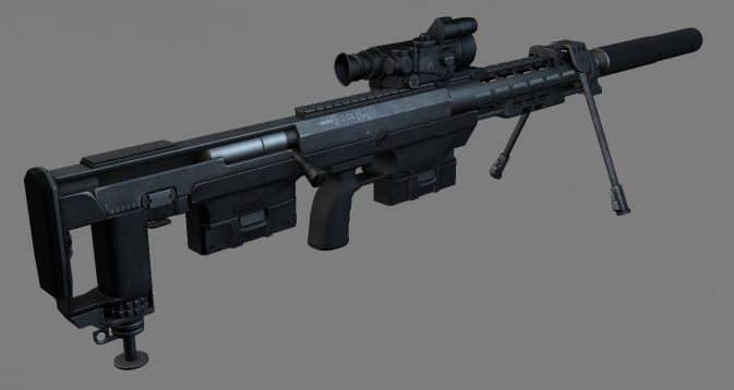 Модель DSR-50 для CS:GO