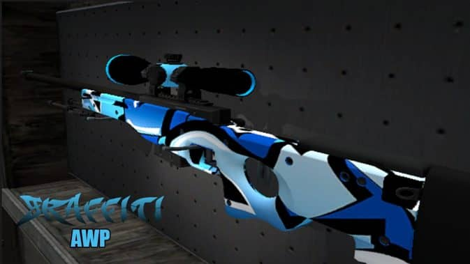Модель Graffiti AWP для CS:GO
