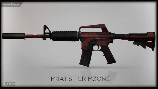 Модель M4A1-S - Crimzone для CS:GO