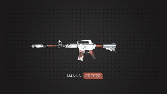 Модель M4A1-S - FREEZE для CS:GO