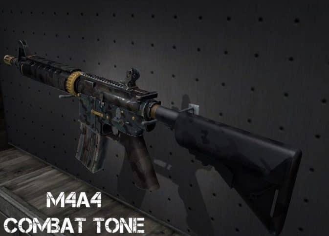 Модель M4A4 - Combat Tone для CS:GO