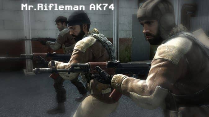 Модель Mr.Rifleman AK74 для CS:GO