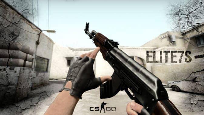 Модель AK47-DarkWood для CS:GO
