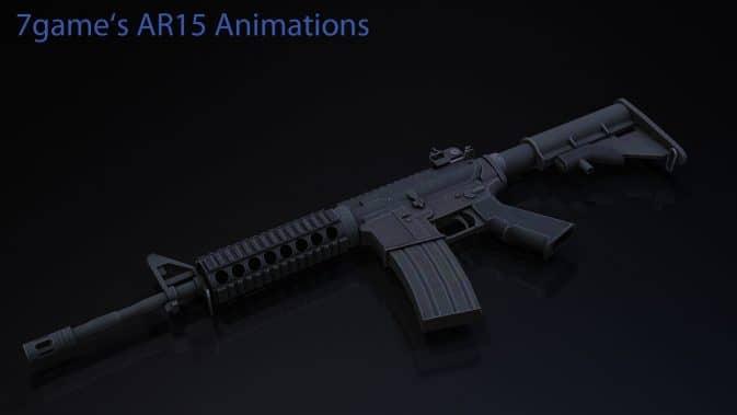 Модель Arby26 AR15 для CS:GO