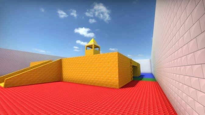 Карта AWP LEGO 2B для CS:GO