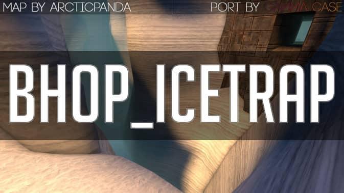 Карта bhop_icetrap для CS:GO