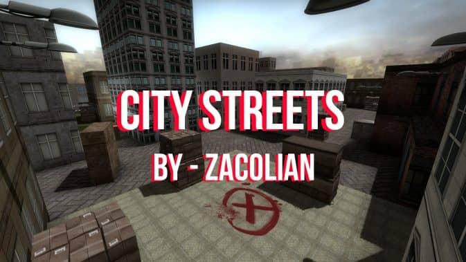Карта de_citystreets для CS:GO