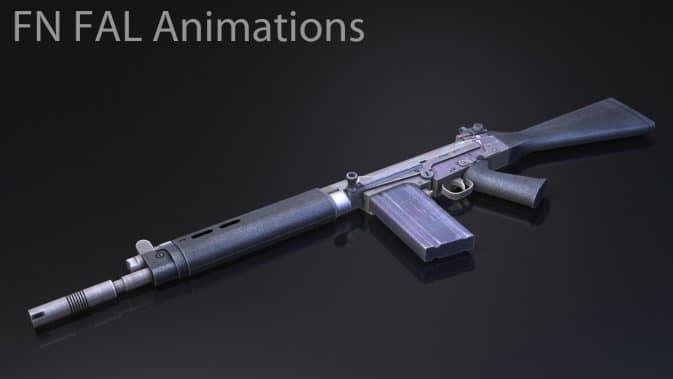 Модель FN FAL Animations для CS:GO