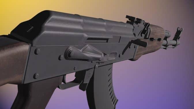 Модель ReAnimation AK47 для CS:GO