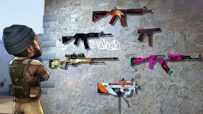 Скины на оружие в кс го скриншот 1