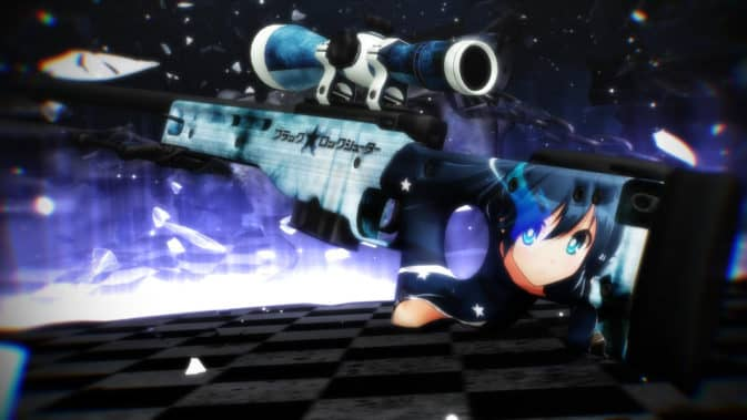 Модель AWP-Black Rock Shooter для CS:GO