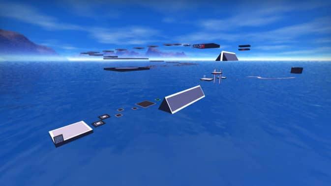 Карта bhop_bluebrine для CS:GO