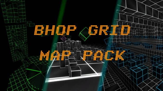 Карта bhop_grid Map Pack для CS:GO