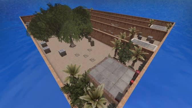 Карта bhop_sandland для CS:GO