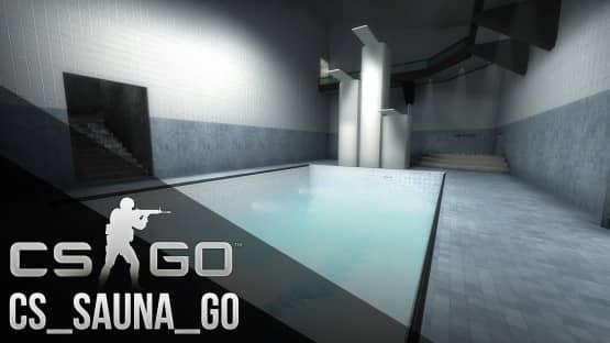 Карта cs_sauna для CS:GO