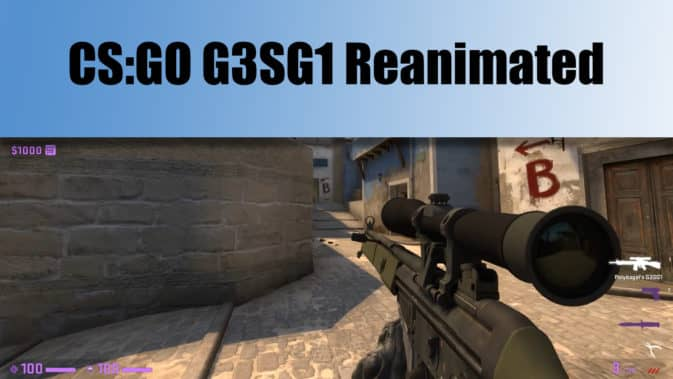 Скин G3SG1 Re-animated для CS:GO