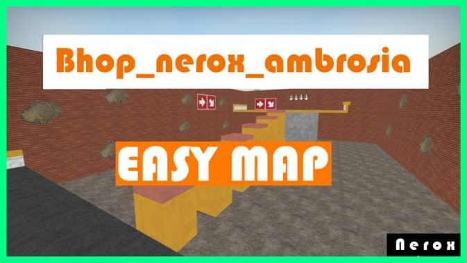 Карта Map Bhop Ambrosia для CS:GO