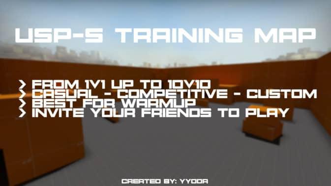 Карта usp-s training для CS:GO