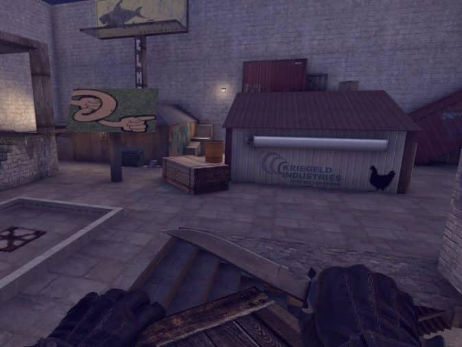 Карта hns_vibes для CS:GO