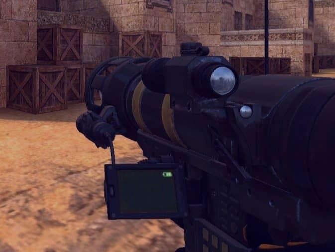 Модель Базука black Mesa для CS:GO