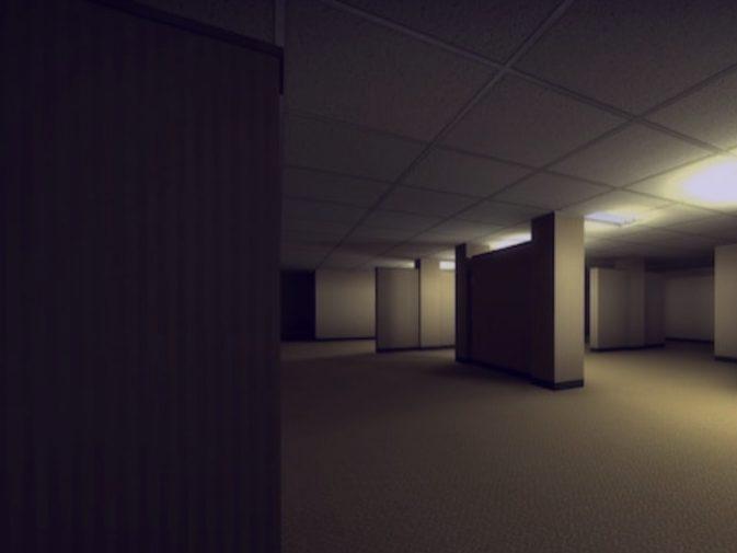 Карта am_backrooms для CS:GO