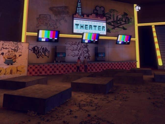 Карта bhop_mall для CS:GO